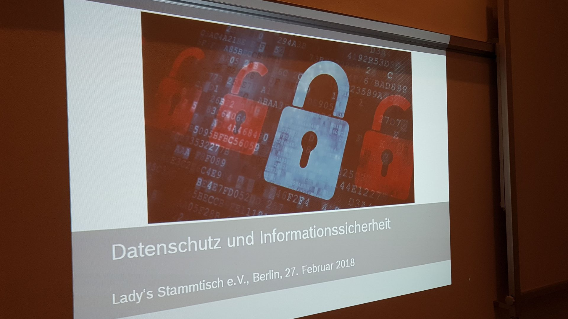 Datenschutz und Informationssicherheit